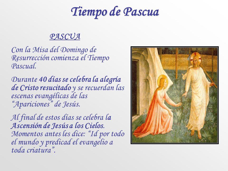 Tiempo de Pascua PASCUA