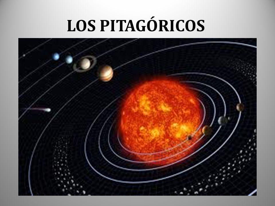 LOS PITAGÓRICOS