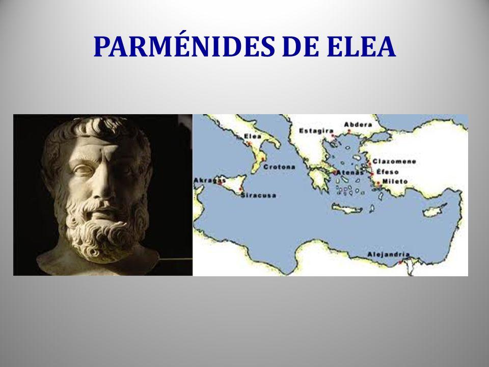 PARMÉNIDES DE ELEA