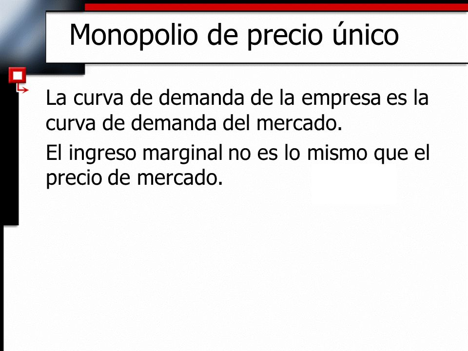 Monopolio de precio único