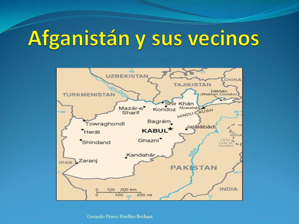 Afganistán y sus vecinos