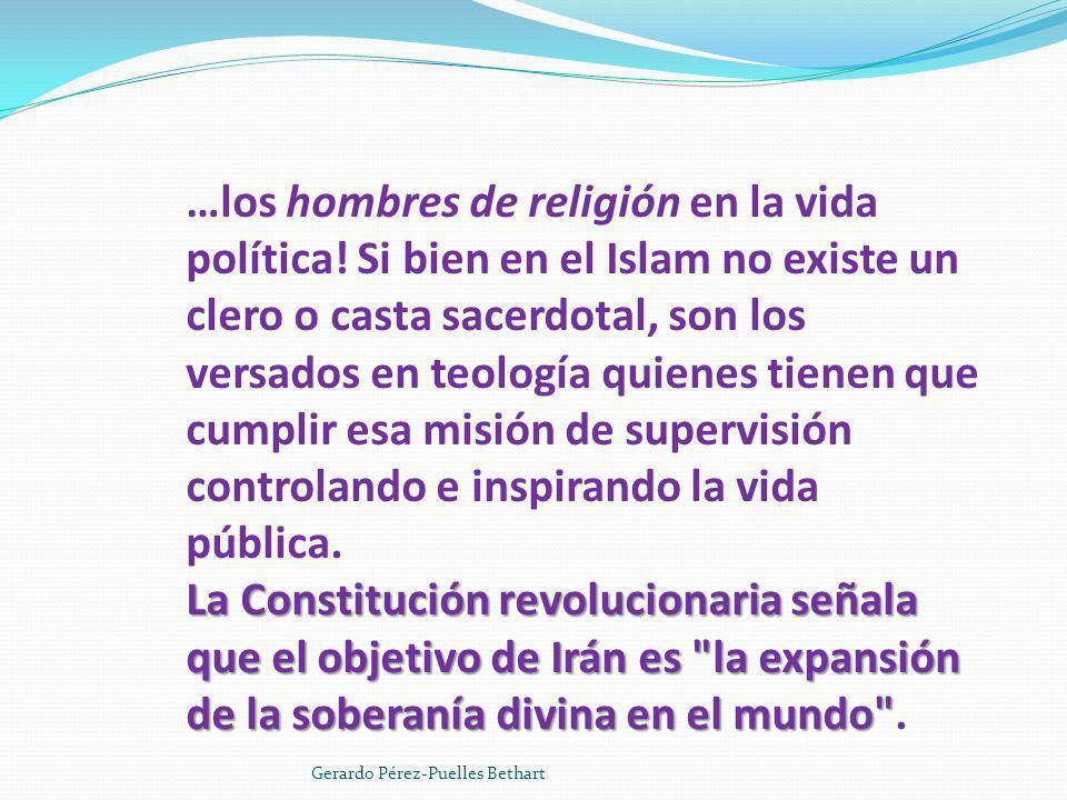 …los hombres de religión en la vida política