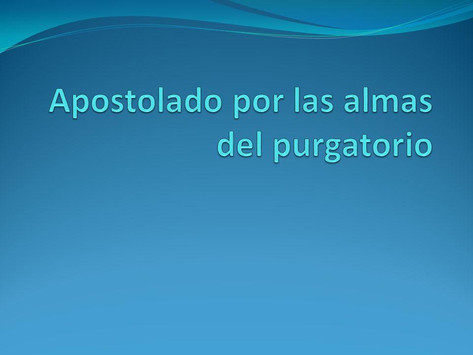 Apostolado por las almas del purgatorio