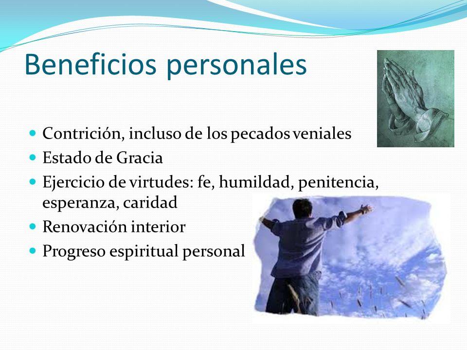 Beneficios personales