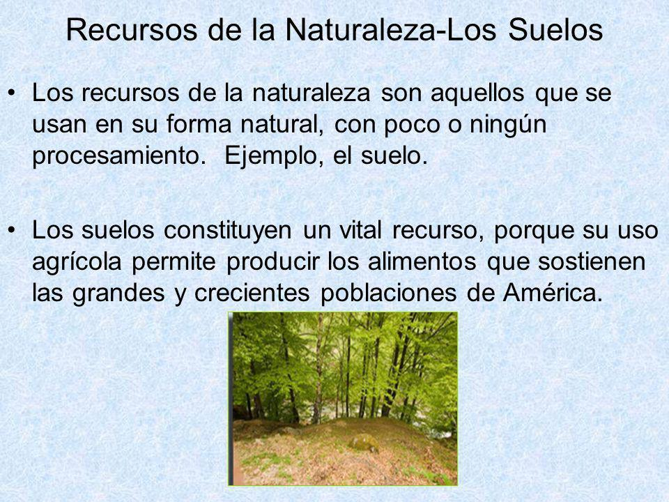 Recursos de la Naturaleza-Los Suelos