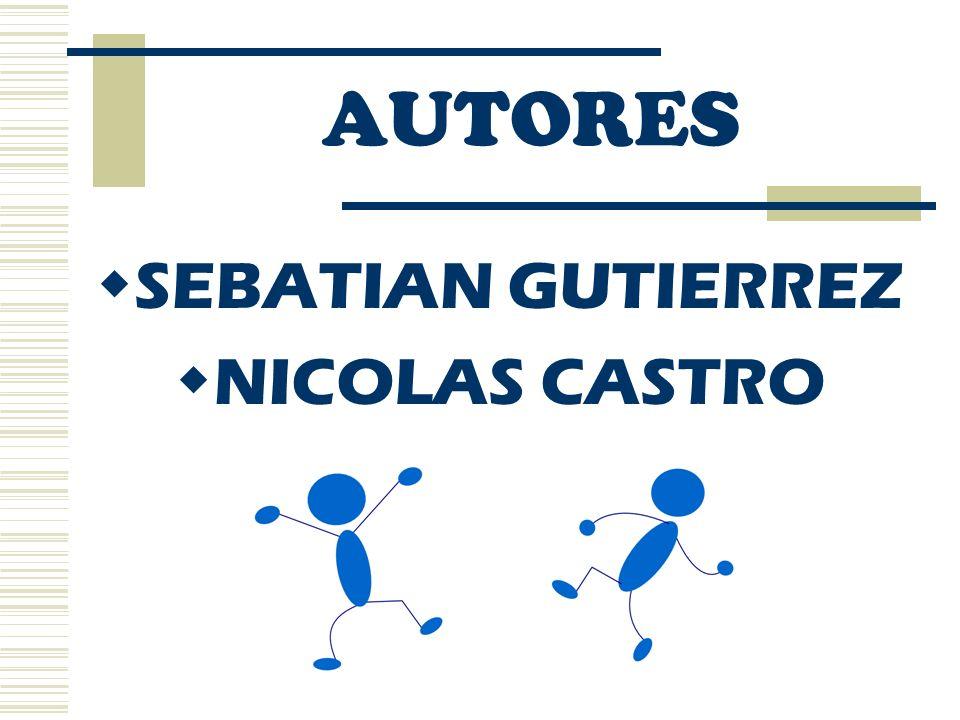 AUTORES SEBATIAN GUTIERREZ NICOLAS CASTRO