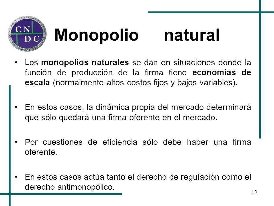 Monopolio natural