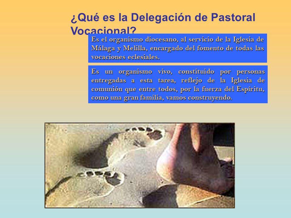¿Qué es la Delegación de Pastoral Vocacional