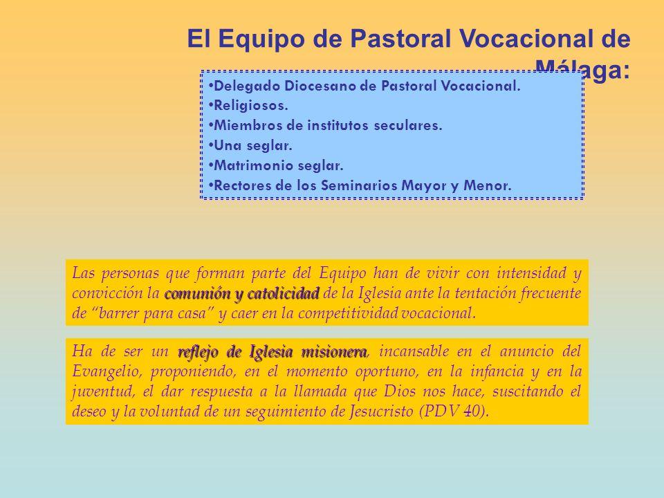 El Equipo de Pastoral Vocacional de Málaga: