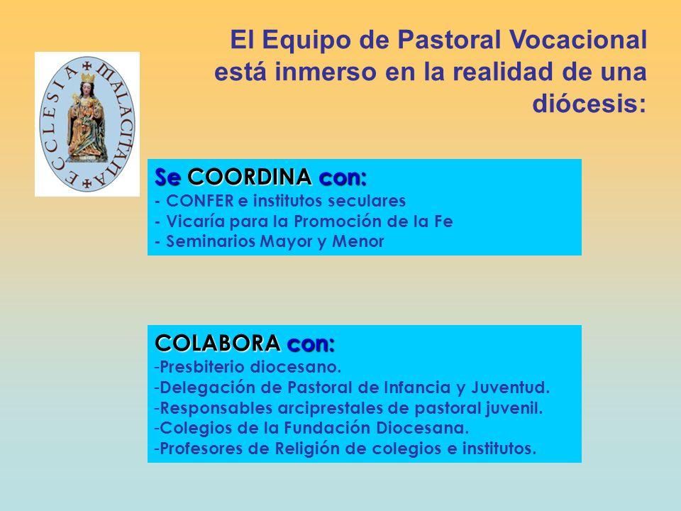 El Equipo de Pastoral Vocacional