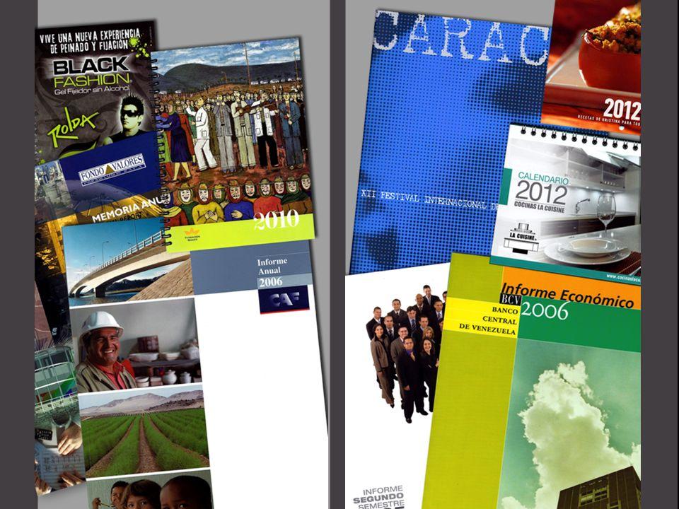 Calendarios Catálogos Carpetas Informes Agendas Anuarios Brochures