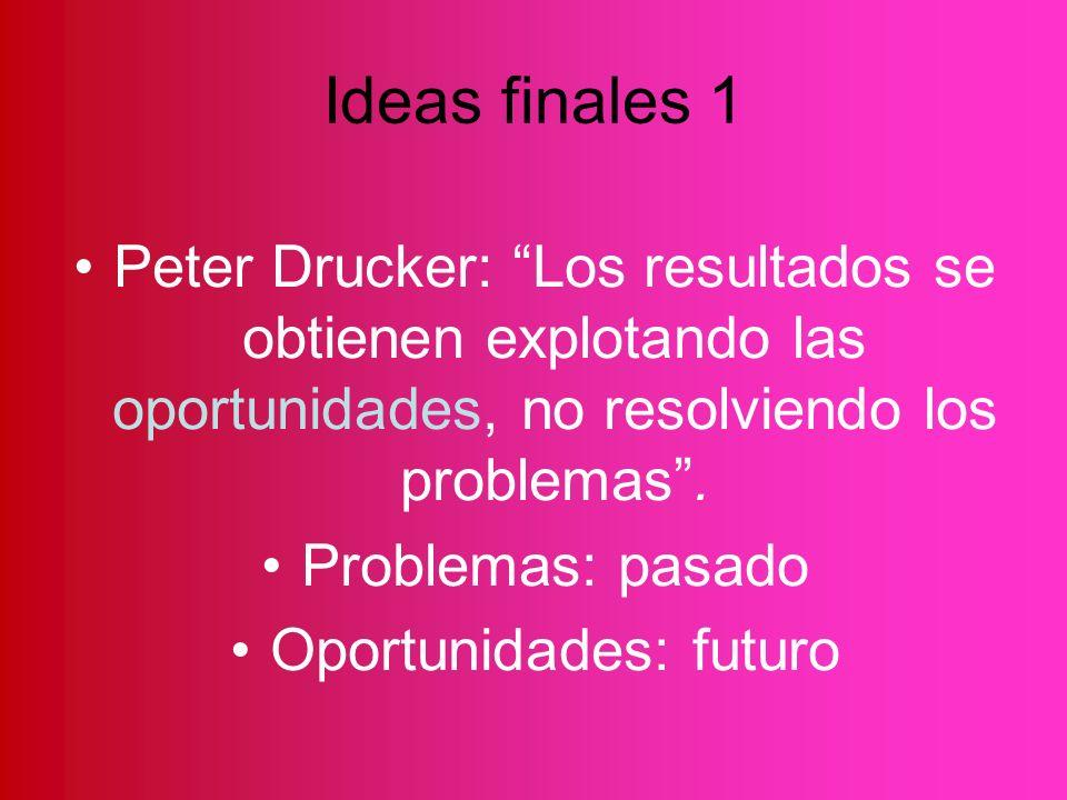 Oportunidades: futuro