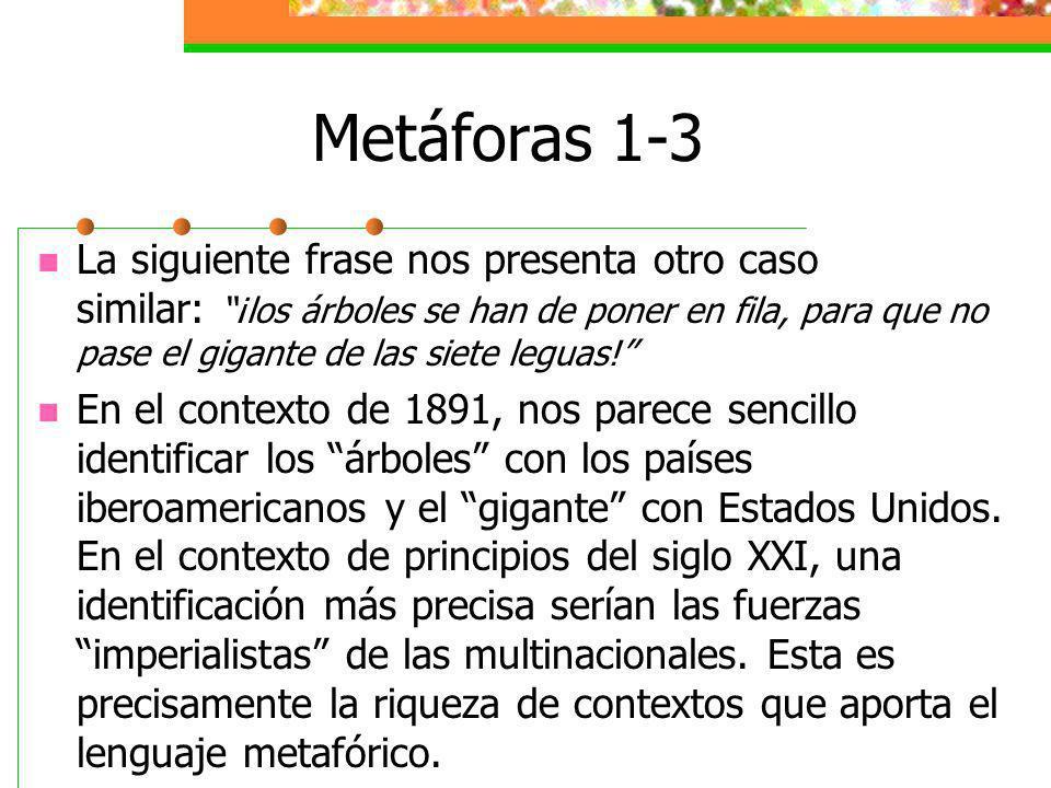 Metáforas 1-3