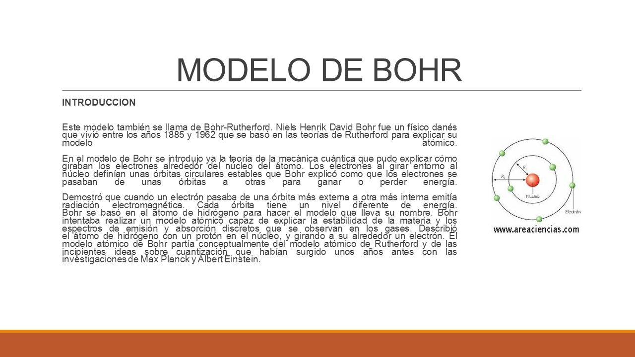 Niels bohr o modelo de atomo