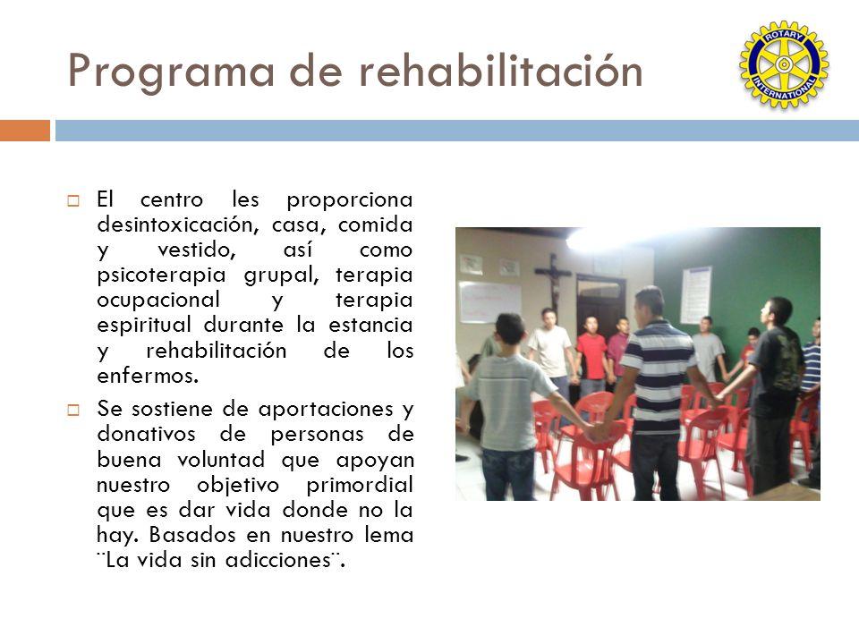 Programa de rehabilitación
