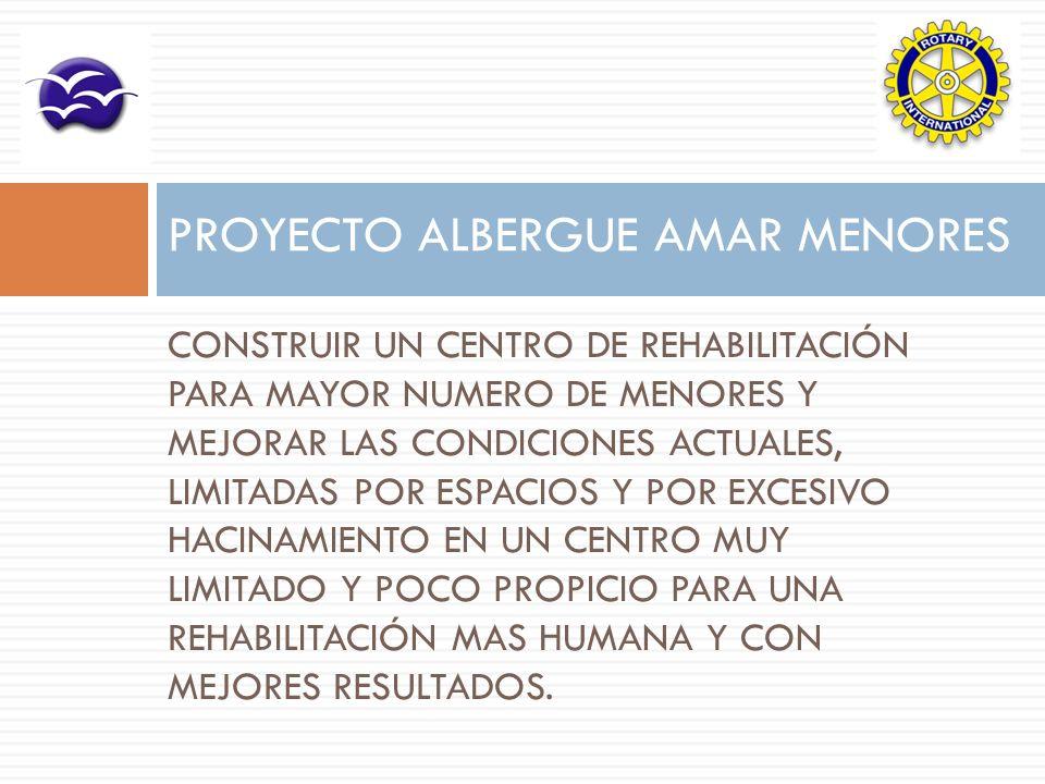 PROYECTO ALBERGUE AMAR MENORES