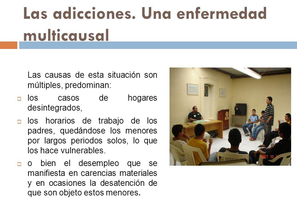 Las adicciones. Una enfermedad multicausal