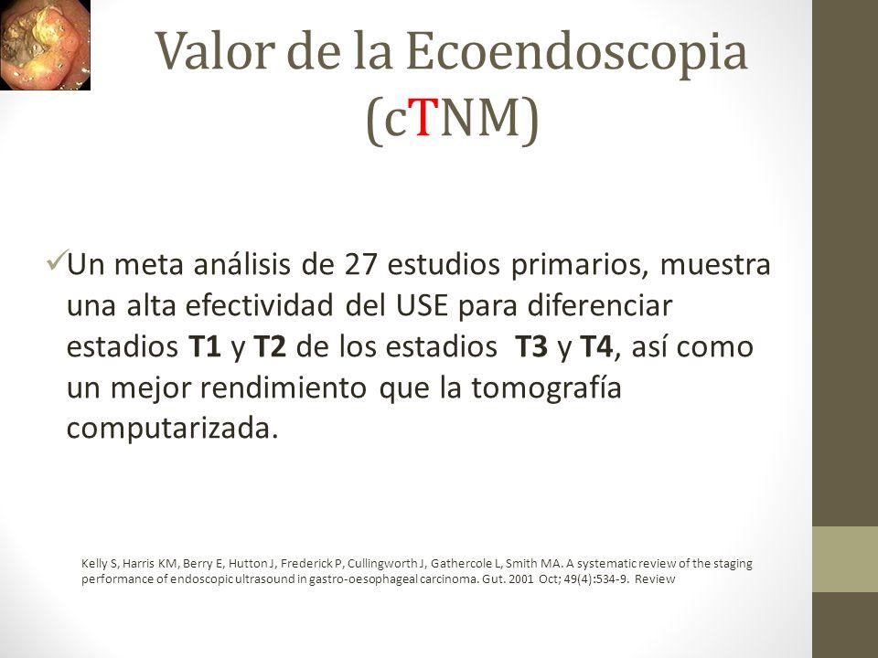 Valor de la Ecoendoscopia (cTNM)