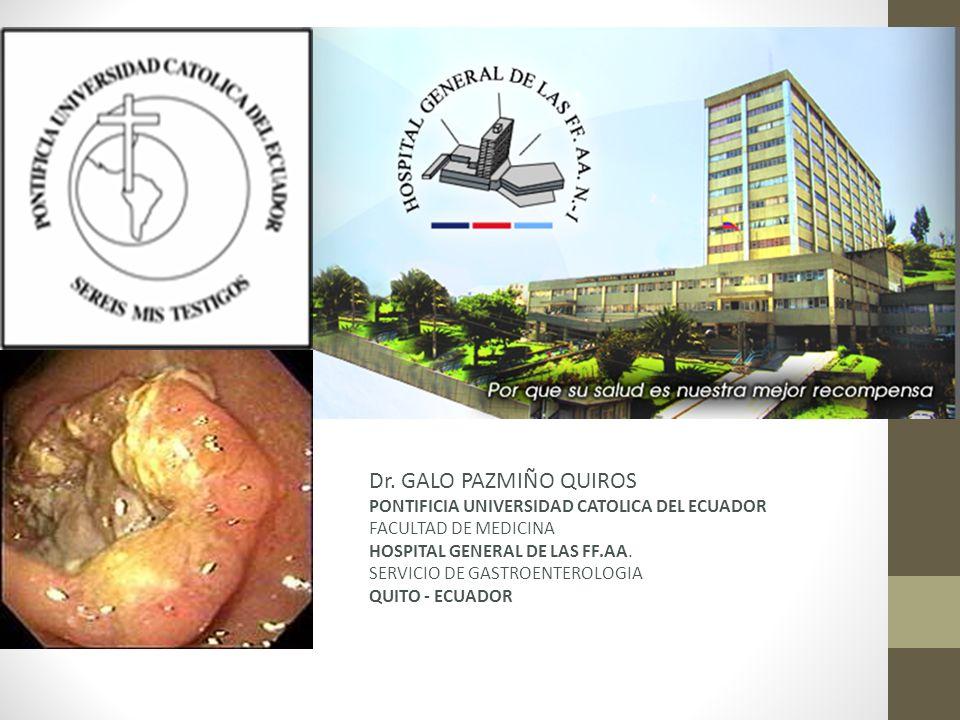 Dr. GALO PAZMIÑO QUIROS PONTIFICIA UNIVERSIDAD CATOLICA DEL ECUADOR