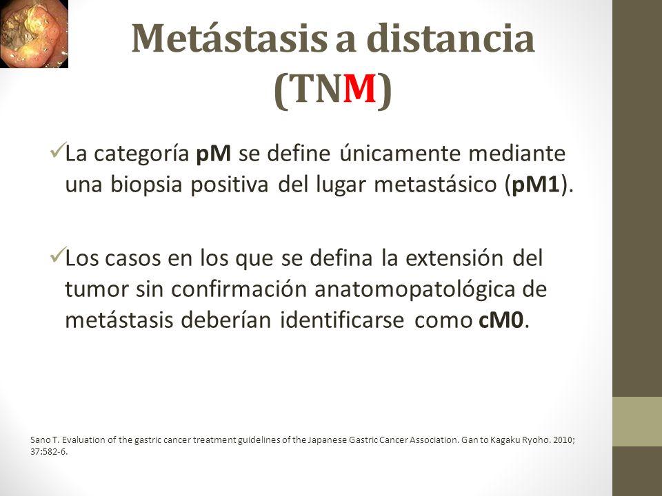 Metástasis a distancia (TNM)