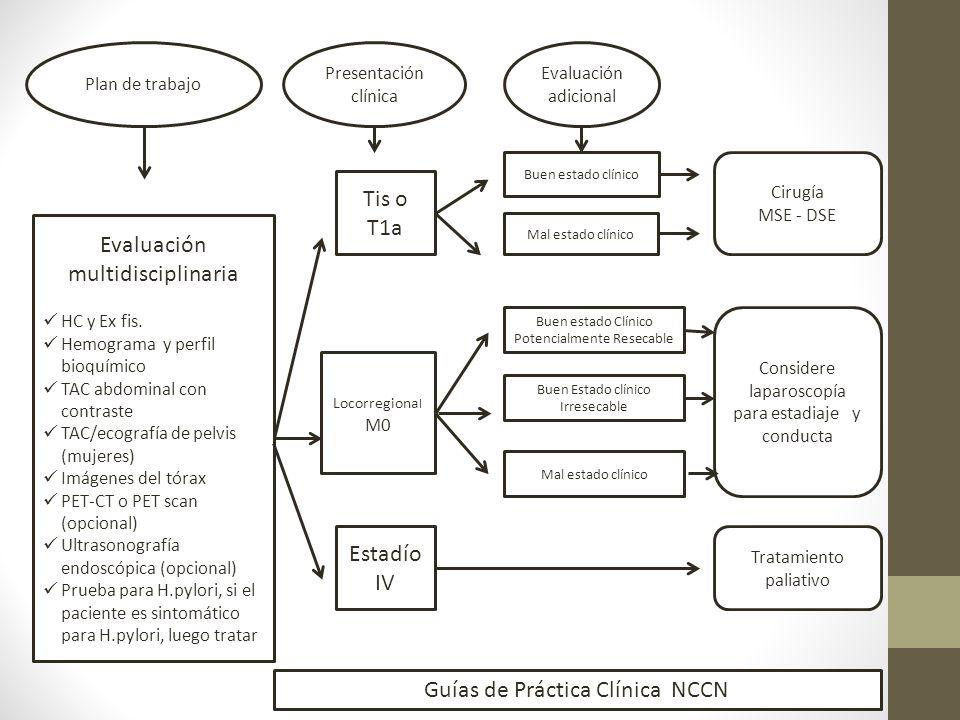 Evaluación multidisciplinaria