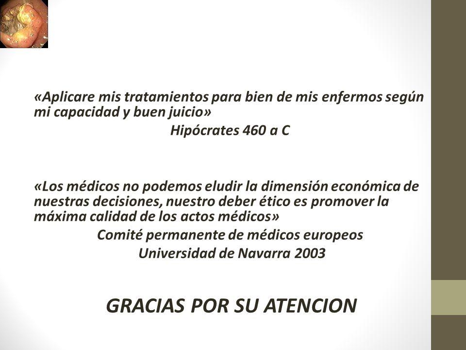 Comité permanente de médicos europeos Universidad de Navarra 2003