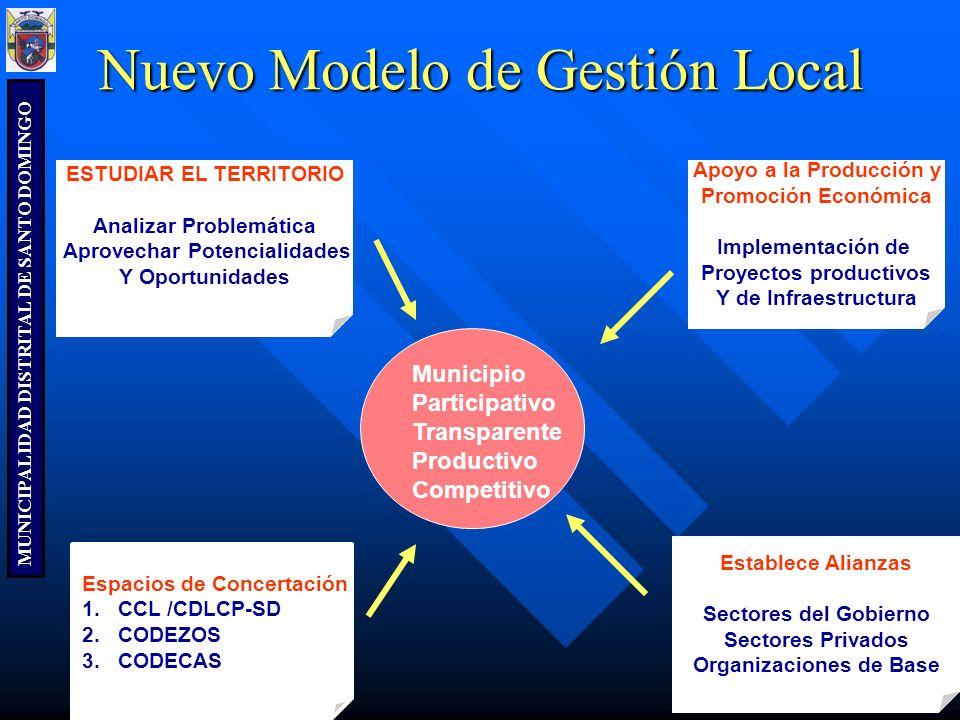 Nuevo Modelo de Gestión Local