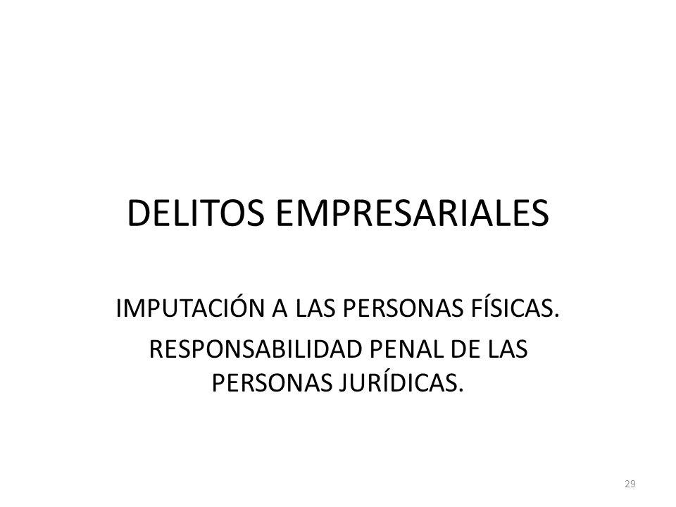 DELITOS EMPRESARIALES