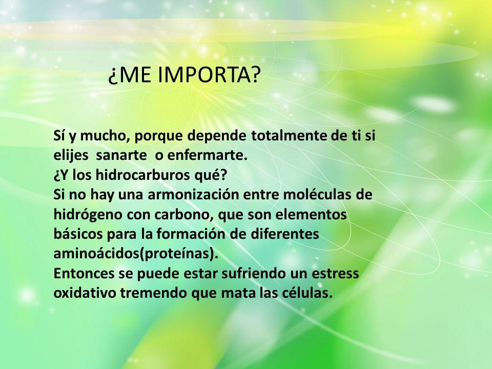 ¿ME IMPORTA ¿ME IMPORTA