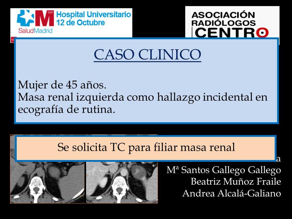 CASO CLINICO LESION FOCAL RENAL