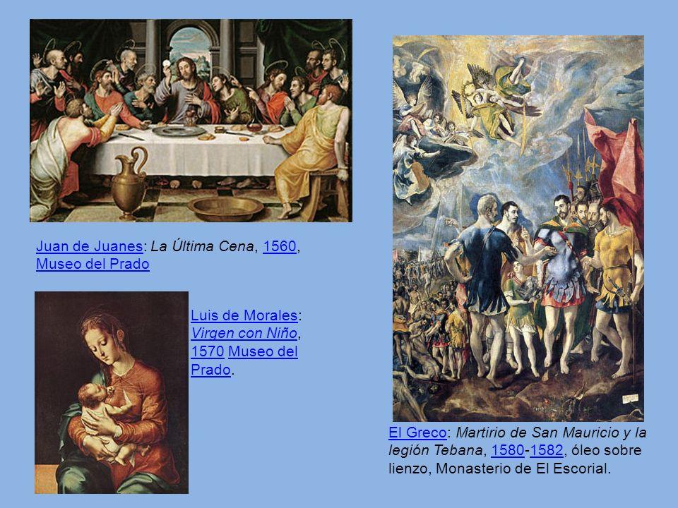 Juan de Juanes: La Última Cena, 1560, Museo del Prado