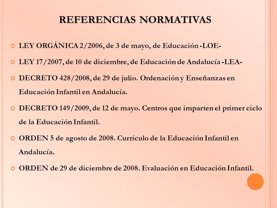 REFERENCIAS NORMATIVAS