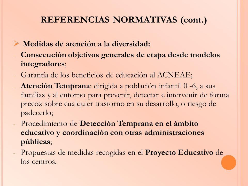 REFERENCIAS NORMATIVAS (cont.)