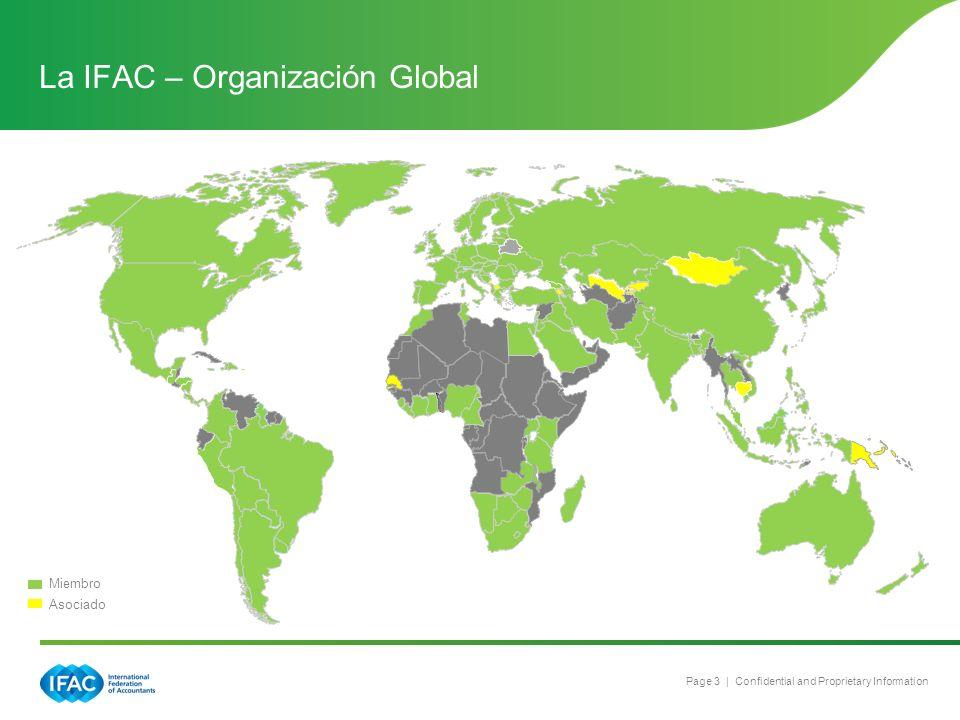 La IFAC – Organización Global