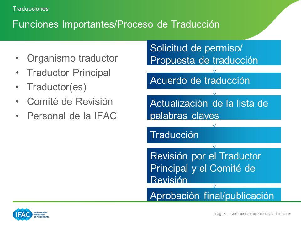 Funciones Importantes/Proceso de Traducción