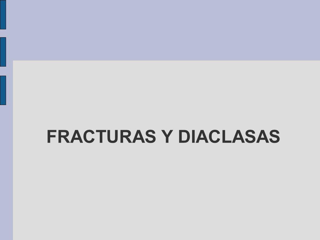 FRACTURAS Y DIACLASAS