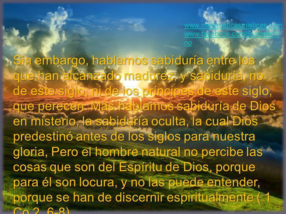 www.matematicasmisticas.com www.facebook.com/SusodelPino.