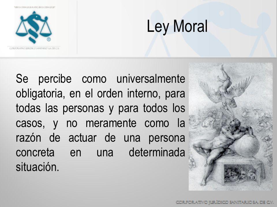 Ley Moral