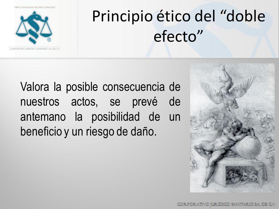 Principio ético del doble efecto