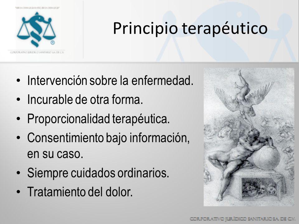 Principio terapéutico