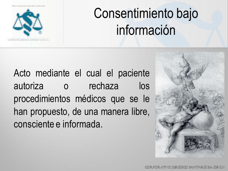 Consentimiento bajo información