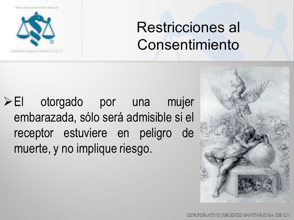 Restricciones al Consentimiento