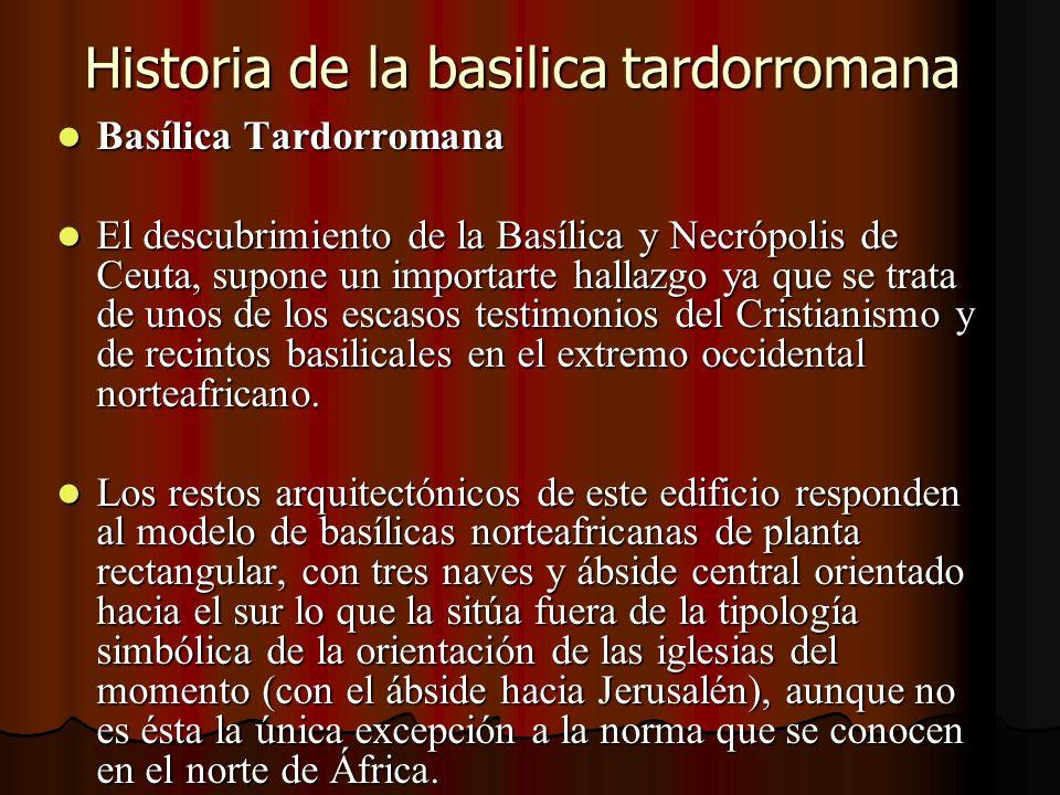 Historia de la basilica tardorromana