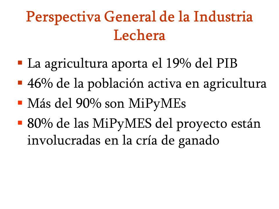 Perspectiva General de la Industria Lechera