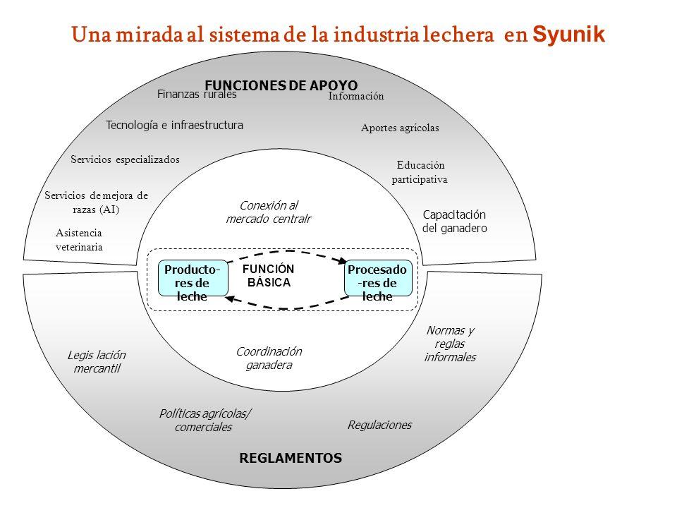 Una mirada al sistema de la industria lechera en Syunik