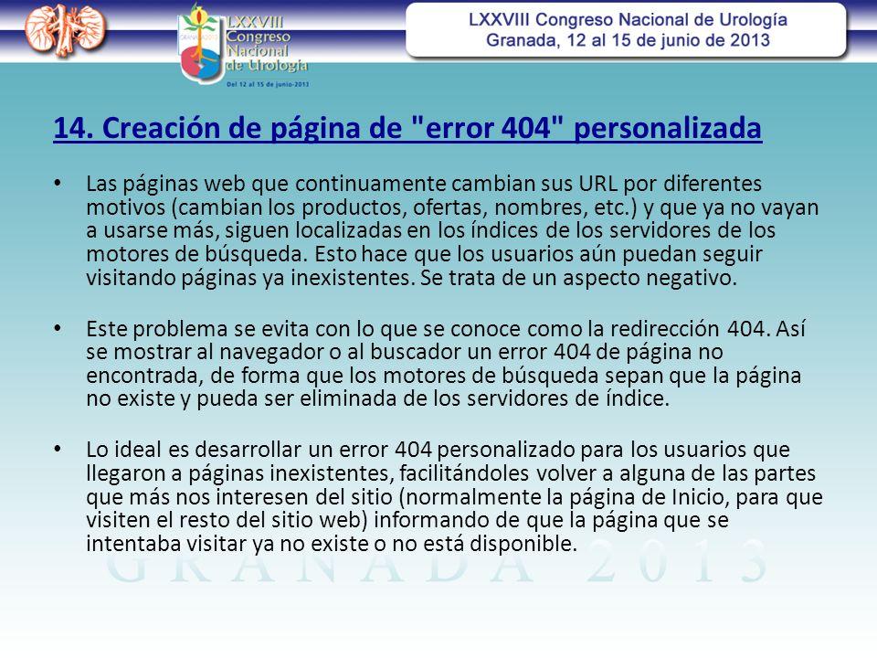 14. Creación de página de error 404 personalizada