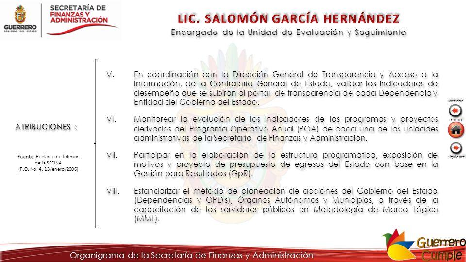 LIC. SALOMÓN GARCÍA HERNÁNDEZ