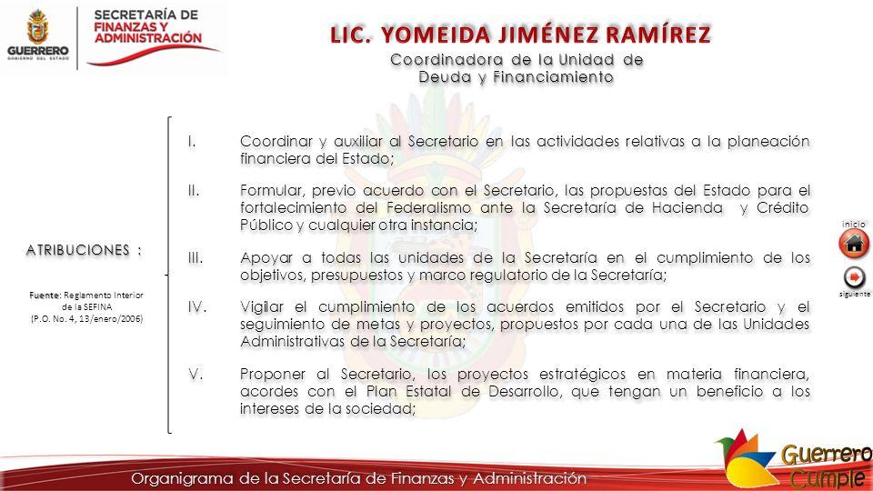 LIC. YOMEIDA JIMÉNEZ RAMÍREZ