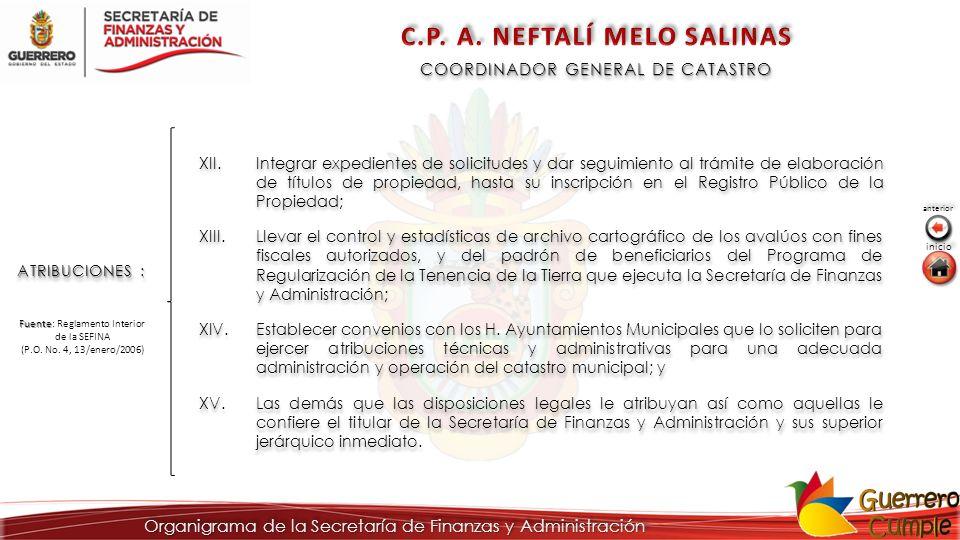C.P. A. NEFTALÍ MELO SALINAS