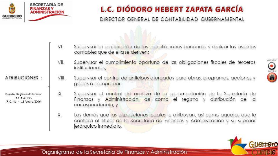 L.C. DIÓDORO HEBERT ZAPATA GARCÍA